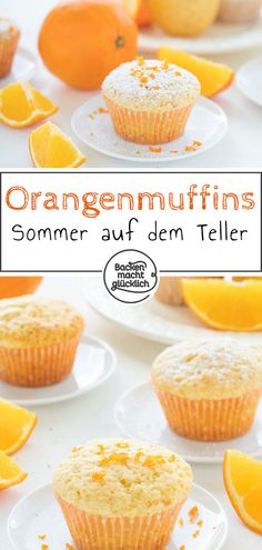 This quick recipe for delicious orange muffins ensures summer on your plate! This quick recipe for delicious orange muffins ensures summer on your plate! Baking Recipes, Cookie Recipes, Snack Recipes, Dessert Recipes, Snacks, Fall Desserts, Healthy Desserts, Muffins Sains, Desserts Sains