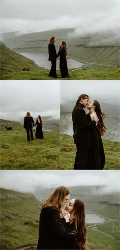 Inspiration for a Faroe Islands Elopement with a black wedding dress photographed by Wild Connections Photography. Reasons To Get Married, Iceland Wedding, Rock Concert, Black Wedding Dresses, Faroe Islands, Elopement Inspiration, Intimate Weddings, Couple Shoot, Getting Married