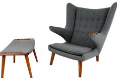 Papa Bear Chair by Hans J. Wegner for AP Stolen