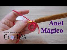 Anel Mágico em crochê por Carine Strieder