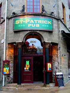 Saint Patrick Pub, Quebec City, Canada