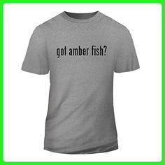 got amber fish? - New Short Sleeve Adult Men's T-Shirt, Heather, Large - Animal shirts (*Amazon Partner-Link)