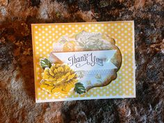 Cheerful Thank-Yous! Stampin' Up! By Maggie Goodellow