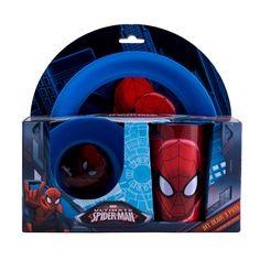 Set dejun 3 piese Spiderman Spiderman, Spider Man, Amazing Spiderman