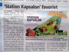Station Kapsalon in Havenloods #stationkapsalon #havenloods