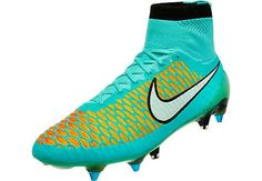 Nike Magista Obra SG-Pro Soccer Cleats - Hyper Turquoise