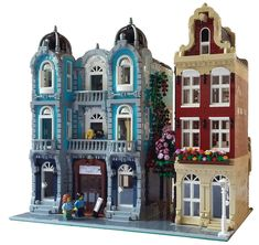~ Lego MOCs City ~ Modular Buildings by - visit their bio to buy the instructions!