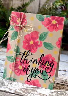 """Thought you might like to see my Instagram Tip that Stampin' Up! posted this past Tuesday. The theory behind Instagram is """"a picture is worth a thousand words"""", but sometimes it does help to have more information. I mixed white..."""