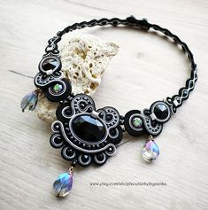 Hey, I found this really awesome Etsy listing at https://www.etsy.com/listing/554189486/elegant-soutache-necklace-with-czeh-and