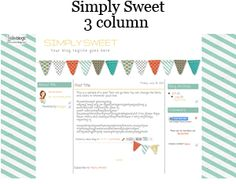 AMAZINGLY cute blog layouts for free from LeeLou! :-)