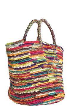 Crochet Maxi Tote Inspiration ❥ 4U // hf