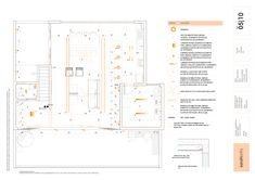 luminotécnico Architecture Panel, Architecture Visualization, Architecture Details, Mise En Page Autocad, Cat House Plans, Desgin, Title Block, Marketing Presentation, Interior Design Presentation