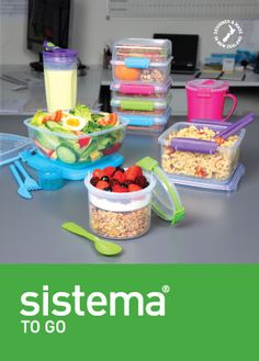 Sistema To GO bpa free & great for kids lunches