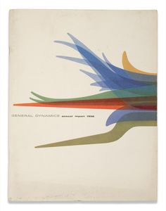 General Dynamics Annual Report 1956/ Vintage/ Cover