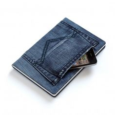 Jeans Notizbuch UPCYCLE DIY SEW DENIM +++ REUTILIZA RECICLA VIEJOS TEJANOS FORRAR FUNDA LIBRETA DE NOTAS AGENDA