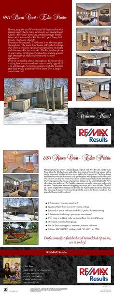 6971 Raven Court - Eden Prairie, MN ~ Sold by Chris Broz of The Brozville Group