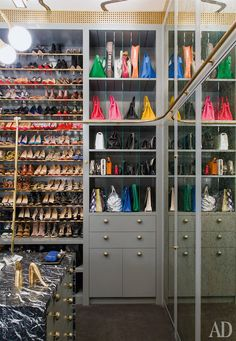 Luxurious Closets, Contemporary, closet, Architectural Digest