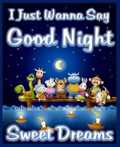 Good night sister sweet dreams