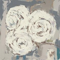 Paintings I Love, Original Paintings, Oil Paintings, Painting Pictures, Abstract Paintings, Farmhouse Paintings, Rustic Painting, Run For The Roses, Abstract Flowers