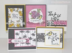 Petal Passion FREE Card Kit in the Mail - January 2018 - with qualifying order. Use Host Code CZR3DZHH at http://jodireinert.stampinup.net