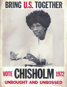 shirley chisholm a woman of power in africa Voices of democracy.