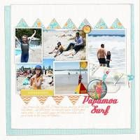 Template and papers by Lynn Grieveson at Designer Digitals