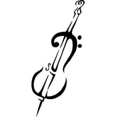 PERFECTION!! Cello Music Symbol Art Apple Macbook iPad Laptop by tabletdecals, $9.99