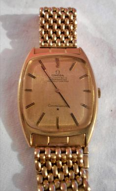 Omega Constellation Automatic Chronometer Gold 18K Vintage 4300 EURO