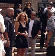 Beyonce and Jay-Z at Trayvon Martin Rally In New York