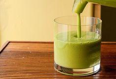 Mango Green Smoothie | Peach Green Smoothie | Healthy Blender Recipes