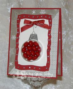 Sweet ornament TESC82 by Jami - Cards and Paper Crafts at Splitcoaststampers