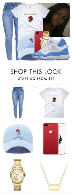 """""""Untitled #1081"""" by lover-185 ❤ liked on Polyvore featuring Forever 21 and Michael Kors Teen Girl Outfits, Dope Outfits, Casual Outfits, Jordan Swag, Jordan 13, Jordan Retro, Jordan Shoes, Jordan Outfits, Up Girl"""