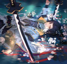 Character Concept, Character Art, Concept Art, Heian Period, Manga Boy, Various Artists, Touken Ranbu, Chinese Art, Asian Art
