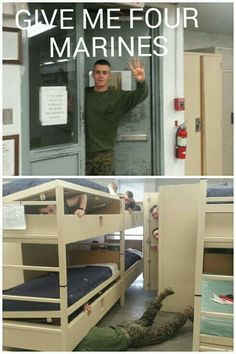 Give me 4 marines.....lcpl up!!