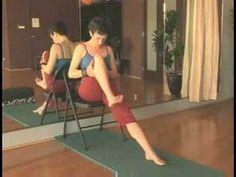 Chair Yoga for Seniors : Chair Yoga for Seniors: Wind Liberating Pose