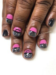 Let My Tape Rock Till My Tape Pop🔈🎶 by Bellissimanails from Nail Art Gallery Kawaii Nail Art, Nail Art Galleries, Nails Magazine, Tape, Art Gallery, Let It Be, Rock, Outfits, Art Museum