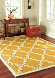 Rugs USA Tuscan Trellis Light Grey Rug