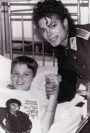 "Today in 1990 the good friend of Michael, Ryan White, died. Let's remember them both and day ""Gone too soon"""