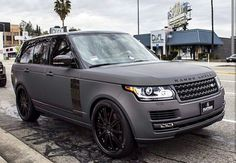 Range Rover Sport2015(matted dirty grey)My favorite.
