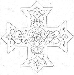 Coptic Cross by ShurumiTattoomi
