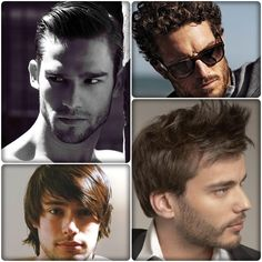 Peinados súper actuales para hombres.