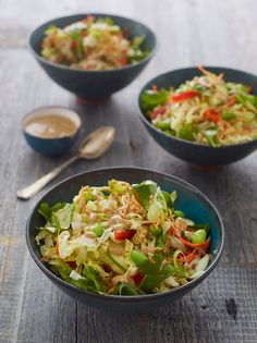 6 Asian Salad Recipes That Are Always A Hit - Once Upon a Chef Salad Recipes Healthy Lunch, Salad Recipes For Dinner, Healthy Salad Recipes, Vegetarian Recipes, Healthy Eating, Lunch Recipes, Delicious Recipes, Tilapia, Shawarma