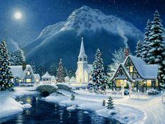Зима в живописи. Обсуждение на LiveInternet - Российский Сервис Онлайн-Дневников
