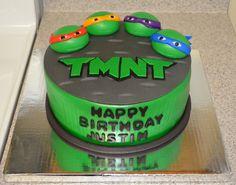 Another idea for a Teenage Mutant Ninja Turtles Cake