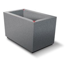 Millstone Urban Rectangle. Get a quote for this commercial self-watering planter and more at EarthPlanter.com.