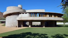 A house designed by Frank Lloyd Wright for his son has become part of the architecture school founded by the American architect 85 years ago.
