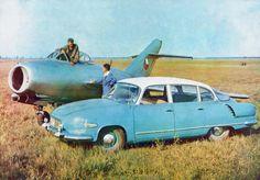 Were frontline interceptors smaller or cars bigger back in the '60s?
