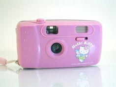 Hello Kitty 35mm Point & Shoot Film Camera Built in Flash Pink 2006 Sanrio #Lomography   - SOLD - Other items FOR SALE HERE -->  http://www.ebay.com/sch/pealfaro/m.html?_nkw=&_armrs=1&_ipg=&_from=