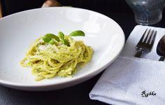 Pasja tworzenia: Spaghetti z awokado i bazylią