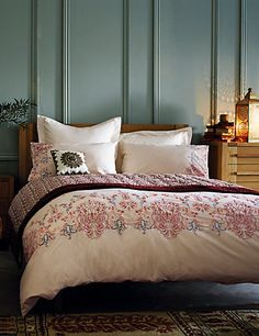 Bedding | Luxury White & Floral Bed Linen & Bedding Sets | M&S